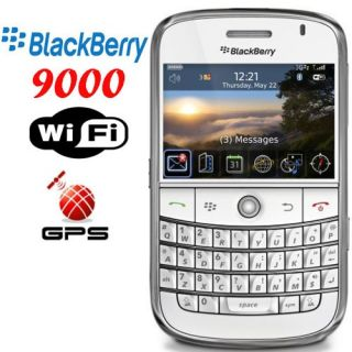 Blackberry Bold 9000 1GB White at T Smartphone Unlocked in Retail Box