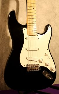 Fender 1998 Eric Clapton Blackie Stratocaster Electric Guitar