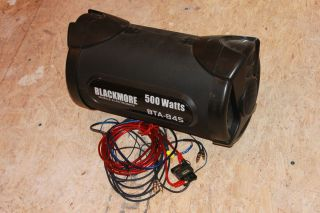 Blackmore Mobile Electroincs BTA 845 Bass Tube Subwoofer 500 Watts 8 w