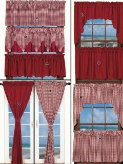 Curtain Swag And Panel Pattern