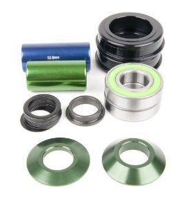 SEALED Bearings DK Fit A Old School BMX Bike Profile Green New
