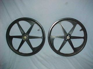 Spoke ACS Z Mags Old School BMX Wheel Set Freestyle Rims Z Mags
