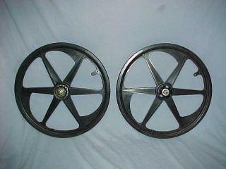 Spoke ACS Z Mags Old School BMX Wheel Set Freestyle Rims Z Mags