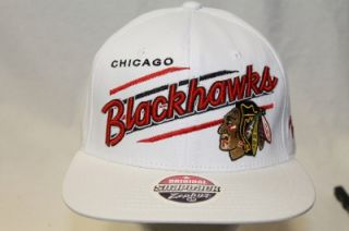 chicago blackhawks nhl snapback hat cap upshot white