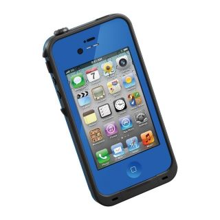 BLUE Life Proof iPhone Case 4 4s Waterproof ShockProof Brand New