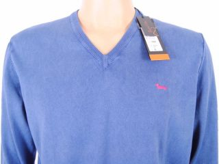 Maglione Harmont Blaine TG L 154€ 50 H090830075 Sweater T Shirt Blu