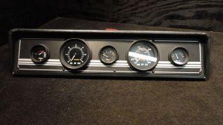 Boat Marine Gauge Switch Panel with Speedometer Tachometer Trim Fuel