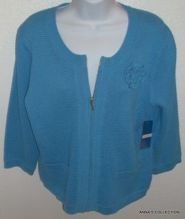 NWT Cable Gauge Bluebell Sweater Size XL