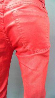 Blank NYC Ladies Womens 28 Stretch Color Denim Skinny Leg Jeans Low