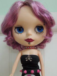 OOAK Punk Rock, Goth, Blythe Doll