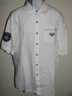 Rich Yung New $80 Mens High End Linen Button Up Shirt Choose Color 2XL