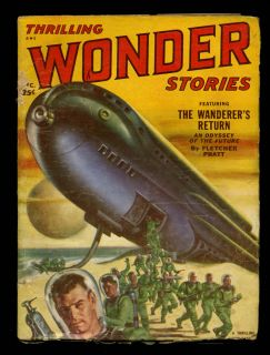 THRILLING WONDER STORIES December 1951 Pulp Magazine James Blish
