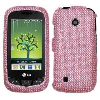 Pink Bling Hard Case Cover for LG Cosmos Touch VN270