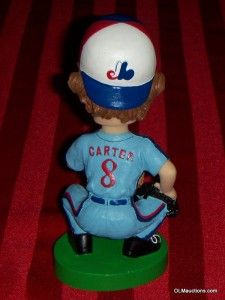 Carter Montreal Expos SGA Baseball Bobblehead Collectible W/ Box RARE