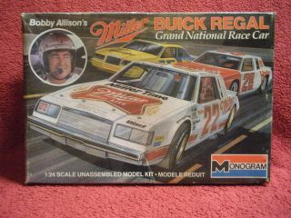 Bobby Allison Buick Regal NASCAR Kit Bonus Kit 75 Matador