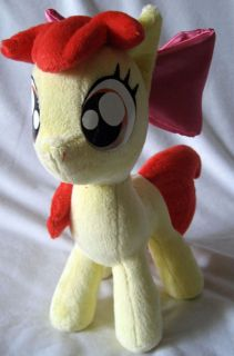 Minky Plush My Little Pony MLP FIM Apple Bloom CMC Filly G4 13