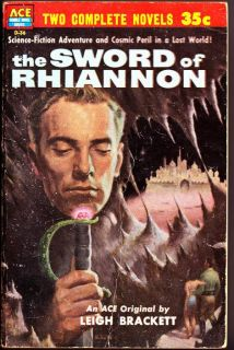 1953 Ace Double Conan The Conqueror Robert E Howard Sword of Rhiannon