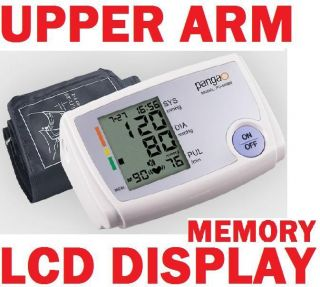Arm Digital Blood Pressure Hypertension Monitor Machine Meter