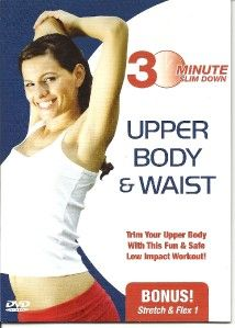 30 Minute Upper Body & Waist Toning Slim Down Workout DVD New