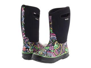 Bogs Classic High Tuscany Girls Waterproof Rain Snow Boots Black 52502