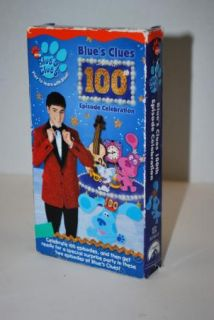 Blues Clues 100th Episode Celebration  VHS kids dog cartoon TV show