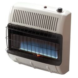 Vent Free 30 000 BTU Blue Flame Natural Gas Heater