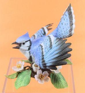 Beautiful Lenox Fine Porcelain Blue Jay Bird Figurine