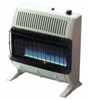 Mr Heater 30 000 BTU Propane Blue Flame Vent Space Heater Winter Room