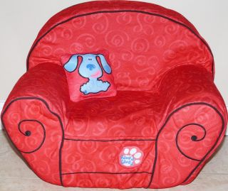 Blues Clues Excellent Condition Thinking Chair Bedtime Nightlite