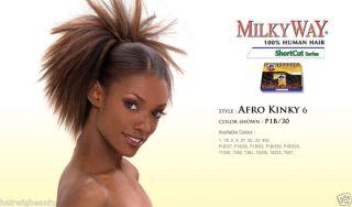 Milkyway 100 Human Hair Weaving Short Cut Series 3