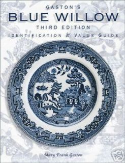 Blue Willow China Price Guide $$$ ID Collectors Book