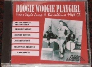 cd various boogie woogie playgirl jump blues