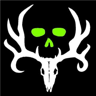 Bone Collector Two Color Hunting Deer Rifle Redneck Car Truck Decals