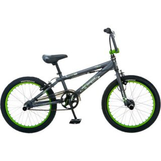 kids boys gray mongoose 20 inch bmx bike bicycle overstock sale