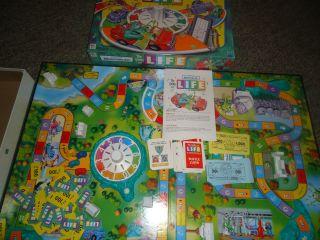 Disney Monster Inc Life Board Game Complete
