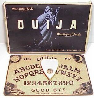 Ouija Board Planchette IOB Parker Brothers Summon Spirits More