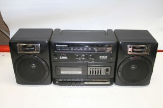 Vintage Panasonic Model RX CS710 Radio Cassette Player Boombox