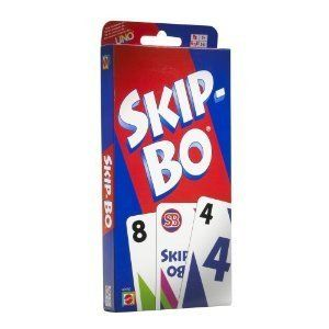 mattel skip bo card game new