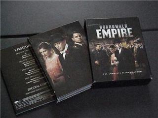 Season Two 2nd Boardwalk Empire DVD Blue Ray Second Season Complete