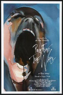 Floyd The Wall 1982 Orig 27x41 Rolled Movie Poster Bob Geldof