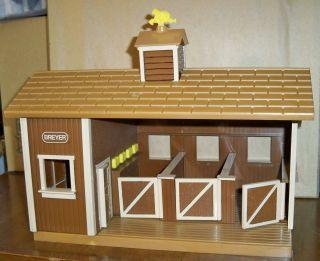 Breyer BONANZA PONDEROSA RANCH Barn, Fences~Stablemate SM~Horse Cowboy