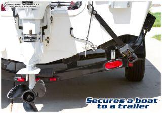 RATCHET TIE DOWN STRAP BOAT ATV PWC JET SKI TRAILER TIEDOWN