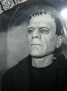 Frankenstein Boris Karloff Silver Screen Edition Sideshow Sixth Scale