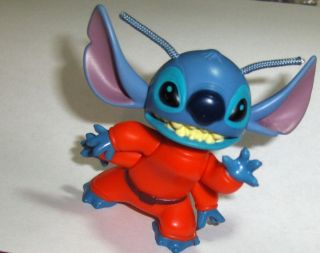 Mcdonalds Toy Disney Lilo Stitch Movie Pet Bobblehead PVC Figure Cake