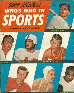 Who in Sports Magazine Issue 2 Stan Musial Bob Lemon P Rizzuto