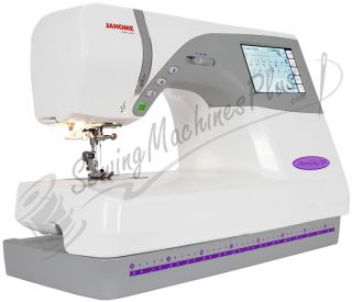 Janome Memory Craft 9700 Sewing & Embroidery Machine with FREE BONUS