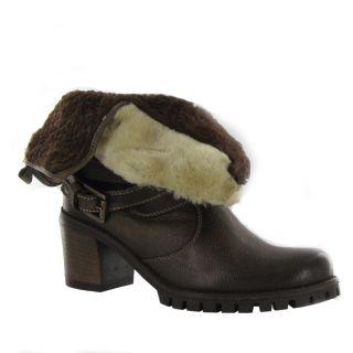brown material leather fall bosco hard wear fabulous women boots by
