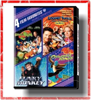 SPACE JAM, OSMOSIS JONES, FUNKY MONKEY, LOONEY TUNES BACK IN ACTION on
