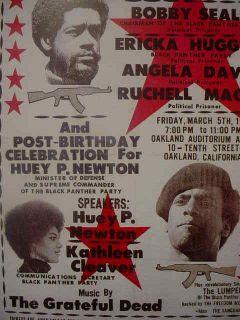 1971 Black Panther Huey Newton Bobby Seale Poster