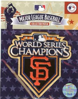 2010 Giants World Series Champions Ring Ceremony Patch